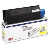 43034801 - Genuine Okidata Brand Yellow Toner